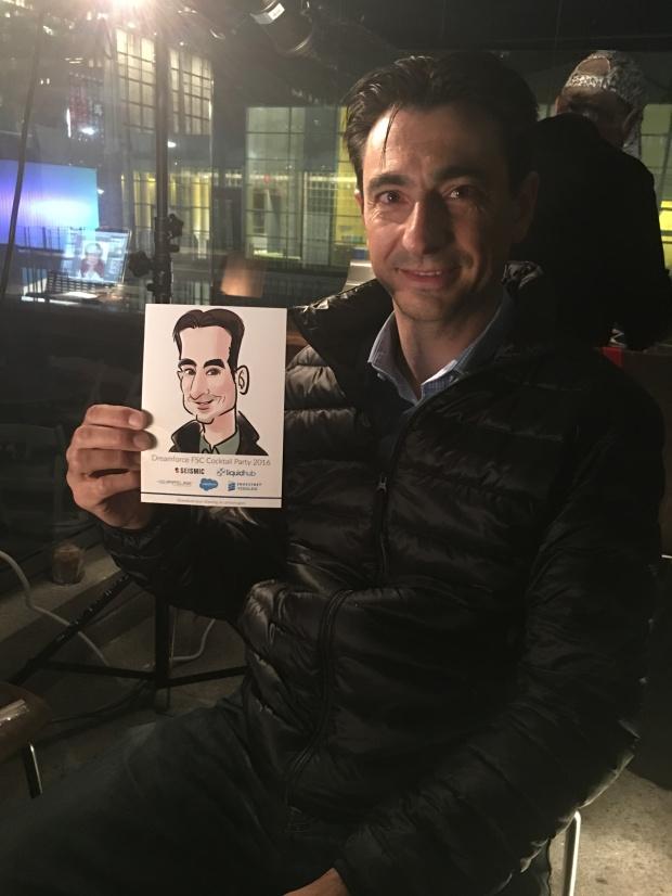 Live Caricatures Cartoon Portrait